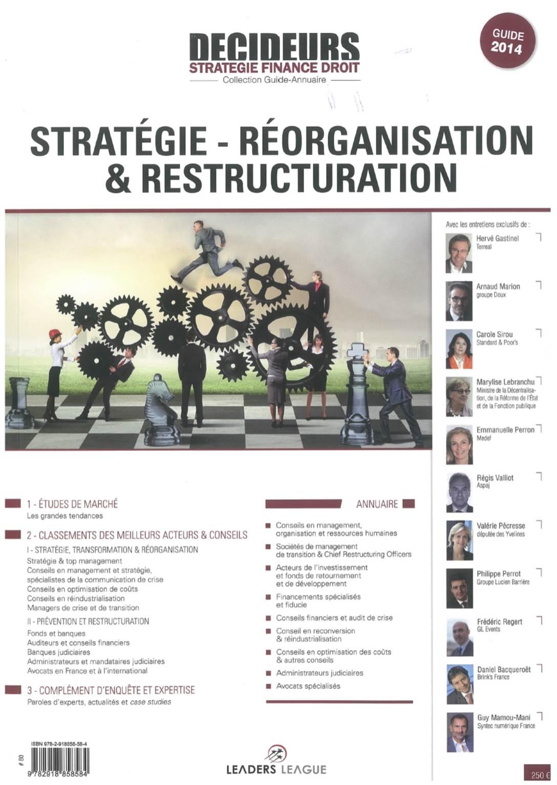74.CouvertureDecideursRestructuring2014