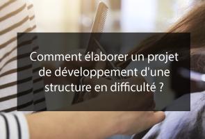 Elaborer un projet de développement pour une structure en difficulté